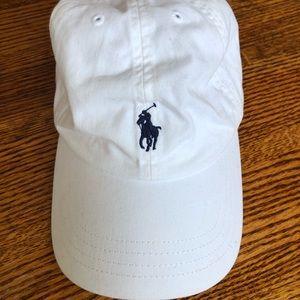 Polo by Ralph Lauren white baseball cap
